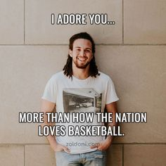 Basketball Pick Up Lines: Cute, Dirty And Cheesy Pick Up Lines Pick Up Lines Cheesy, Popular Sports, Secret Crush, Love And Basketball, Having A Crush, Hoop, T Shirts For Women, Secret Love, Frame