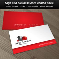 A Logo & Business Card Set Design suitable for architecture and real estate themes. #logo #businesscard #design  $39.00