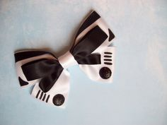 Storm Trooper inspired Star Wars hair bow