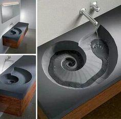 سینک آب Sink Design, Bathroom Lighting, Sick, Bathroom Sink Design
