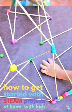 How to Get Started Doing STEAM Projects At Home