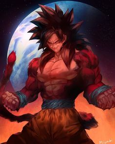 Dragon Ball Z, Dragon Z, Goku 4, Goku Saiyan, Super Saiyan 4 Goku, Manga Dbz, Dragonball Anime, Majin, Akira