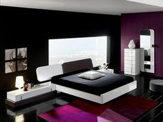 1000 images about black and purple bedroom on pinterest