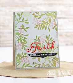Crafting with Betty: Curtain Call Inspiration Challenge: Charming!