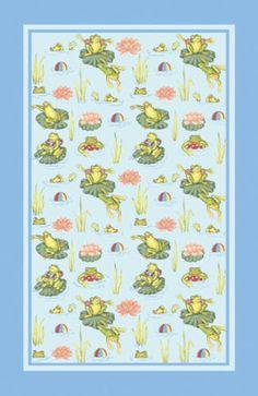 Swimming Lessons Ulster Weavers Linen Tea Towel