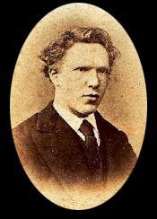 Vincent van Gogh (19 years old)