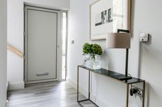 Side table in hallway of Plot 1