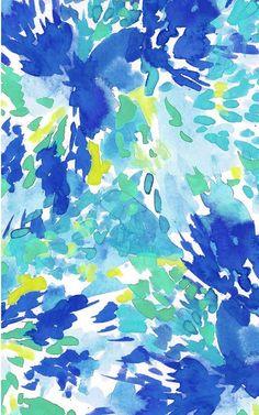 May Floral Splash Desktop and Phone Wallpapers: