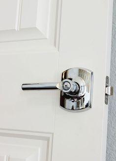 Changing Door Hardware An Easy Upgrade