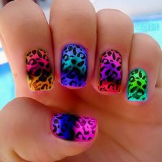 25 Colorful Nail Art Designs