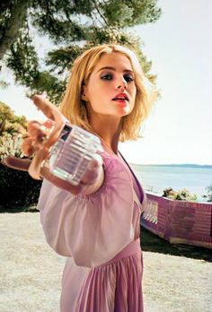 Lucy Boynton, Perfume, Woman Crush, Woman Face, Beautiful People, Lily, Female Faces, Style Inspiration, Beautiful Hairstyles