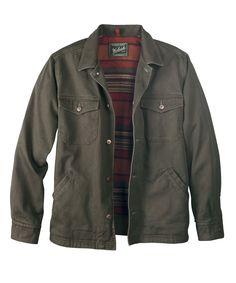 Men's Dorrington Shirt Jacket by WOOLRICH® The Original Outdoor Clothing Company