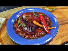 Špekáčky na černém pivu - YouTube Steak, Beef, Youtube, Food, Meat, Ox, Ground Beef, Youtubers, Meals