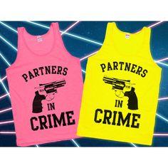 Partners in Crime Best Friends Tanks
