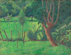Paysage par Paul Serusier © RMN-Grand Palais (musée d'Orsay)