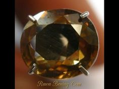 Batu Permata Zircon Alami Yellowish Brown Oval Cut 2.60 Carat. Harga perkenalan kualitas koleksi permata zircon alami. Diskon 50%