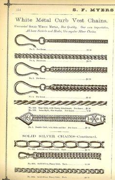 S.F. Myers & Co. Jewelry Catalogue, circa 1878