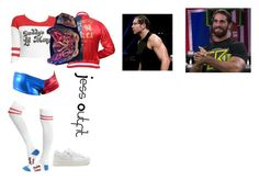 """""""Description"""" by anoai on Polyvore featuring WWE"""