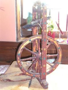 spinnrad antik in Hohenau