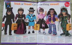10 American Girl Doll Catalogs From Your Past | My doll had the hippie outfit!!!