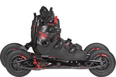 Powerslide XC Trail - X-Skating. The skate with an integrated shoe