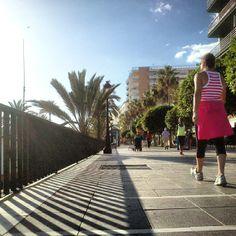 Walk, Marbella, sunny, paradise, beach, holidays.
