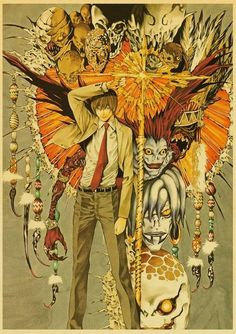 Death Note Posters Retro Posters - Q045 11