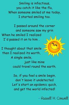 smile quotes cute positive quotes quote sun happy smile This is so cute! Smile Quotes, Happy Quotes, Positive Quotes, Happiness Quotes, Poems In English, English Poems For Children, English English, English Language, Poetry For Kids