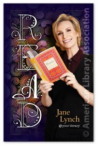 Jane Lynch Poster - Posters - Products for Young Adults - ALA Store