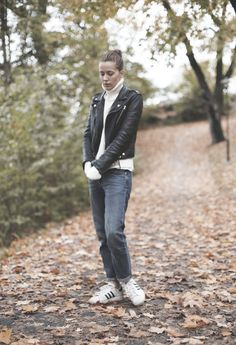 Emma Elwin fall style //  polo-white-filippak