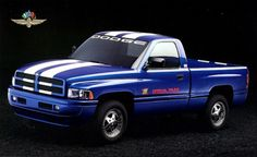 1996 Dodge Ram Indy 500 I owned this truck at one time! I was the 1st in , my county. It sure got a lot of looks.