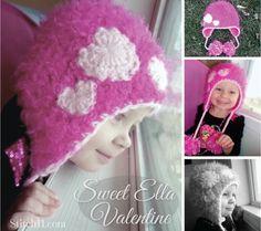 Free Crochet Pattern!!    Sweet Ella Valentine
