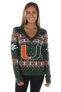 Women's University of Miami Sweater