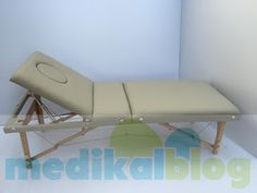 Hızlı Medikal: Ahşap Çanta Tipi Masaj Yatağı