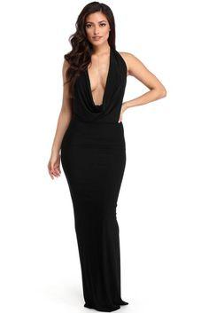 Florencia Black Convertible Dress | WindsorCloud
