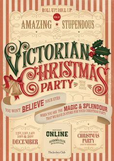 Victorian Christmas by Martina Flor, via Behance