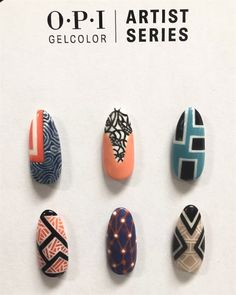 OPI Launches GelColor Artist Series - Technique - NAILS Magazine