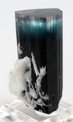 Tourmaline with Albite: Afghanistan