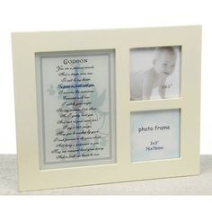 Godson photo frame - Gift from Godparent - Baptism/Christening Ireland Baby Shower Gifts, Baby Gifts, Godparent Gifts, Nappy Cakes, Christening Gifts, Inexpensive Gift, Ireland, Gift Ideas, Frame