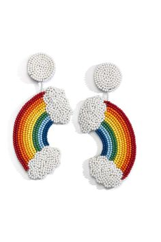 Native Beading Patterns, Beadwork Designs, Beaded Jewelry Designs, Bead Embroidery Jewelry, Fabric Jewelry, Beaded Embroidery, Hand Embroidery, Beaded Brooch, Beaded Earrings