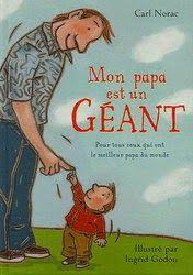 livre enfant : mon papa est un géant