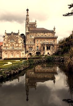 Palace Hotel do Bussaco,  Bussaco, Portugal ~ considered one of the most beautiful historic hotels in the world // Alex Diaconu