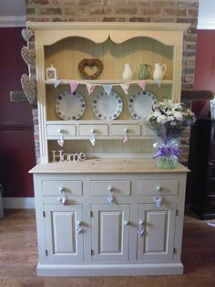 Welsh Dresser <3 I need me one of these!