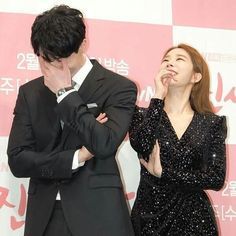 Yoo In-na and Lee Dong-wook Asian Actors, Korean Actresses, Korean Actors, Actors & Actresses, Wgm Couples, Celebrity Couples, Goblin, Korean Drama Funny, Yoo In Na