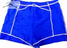 """8 darab, kék, """"biciklis nadrág"""" rövid nadrág csomag. 7 darab M-s, 1 darab L-s, 80% elasztán 20% lycra"""