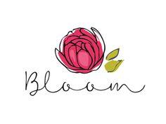 Логотип для интернет-магазина, занимающегося доставкой цветов.