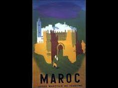 Afbeeldingsresultaat voor vieilles affiches marocaines
