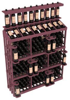 Wine Rack Storage, Wine Rack Wall, Under Stairs Wine Cellar, Wine Racks America, Home Wine Cellars, Pallet Wine, Wine Display, Vertical Storage, Bottle Rack