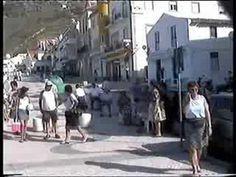 Portugal  Vidéo découverte du port et ville de Nazare (Portugal port and...