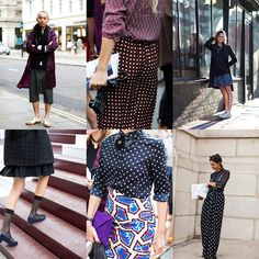 If You're Thinking About…….Dots « The Sartorialist